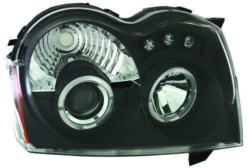 IPCW CWS-5005B2 Jeep Grand Cherokee 2005 - 2007 Head Lamps, Projector Black   B006BURNN0