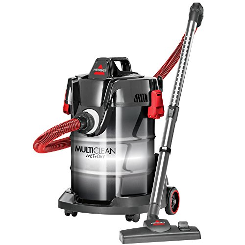 BISSELL Multiclean Wet/Dry Shop Vacuum Cleaner, Black