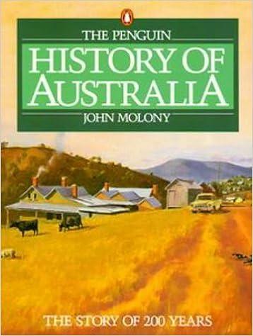 Book History of Australia by John N. Molony (1988-06-30)