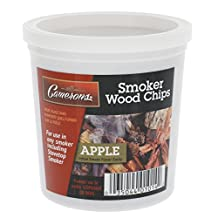 Wood Smoking Chips - 1 Pint of Apple Wood Chips (Fine) for Smokers - 100% Natural