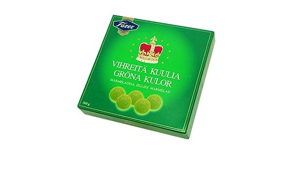 Fazer Grona kulor(Pack de 3) - Dulces de mermelada de pera ...