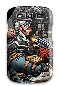 Premium DpMHoCx13686WyOFC Case With Scratch-resistant/ Captain America Vs Cable Comics Avengers Anime Comics Case Cover For Galaxy S3