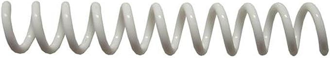 Medium Brown PMS 469 C 9//32 x 12 Spiral Binding Coils 7mm pk of 100 4:1