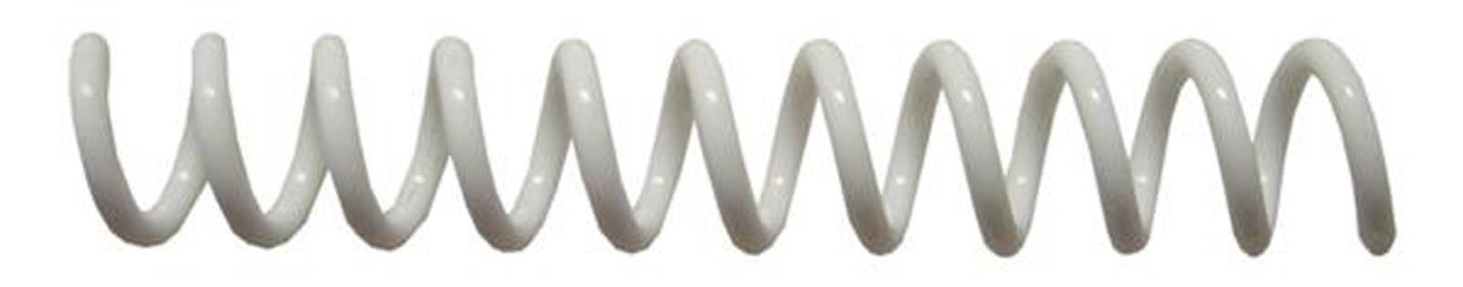 7mm (9/32) White Coil Bindings (Qty 100) Color: White, Model: , Office/School Supply Store