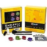 Glimmer - Piabpc003035 - Kit De Loisirs Créatifs - Coffret De Tatouages À Paillettes - Printemps