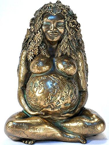 Millennial Gaia Statue - Bronze Finish by Oberon Zell ()