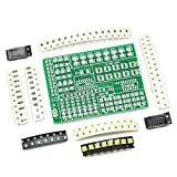 Gikfun SMD SMT Components Solder Kit Practice PCB
