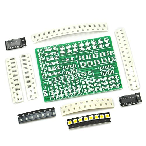 Gikfun SMD SMT Components Solder Kit Practice PCB Board Electric Led DIY Kit for Arduino Learning Welding Training Suite EK1938