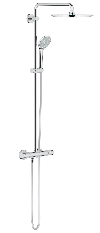 GROHE Euphoria 180 mm  Brausen- und Duschsysteme - Duschsystem   Duscharm 450mm, mit Thermostat   27296001