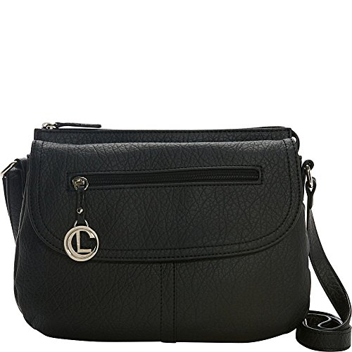 aurielle-carryland-saddle-up-flap-crossbody-black