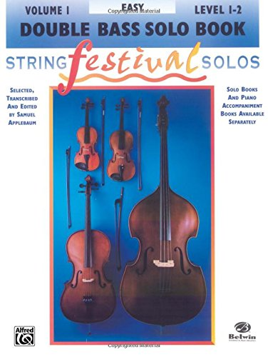 String Festival Solos, Vol 1: Double Bass Solo