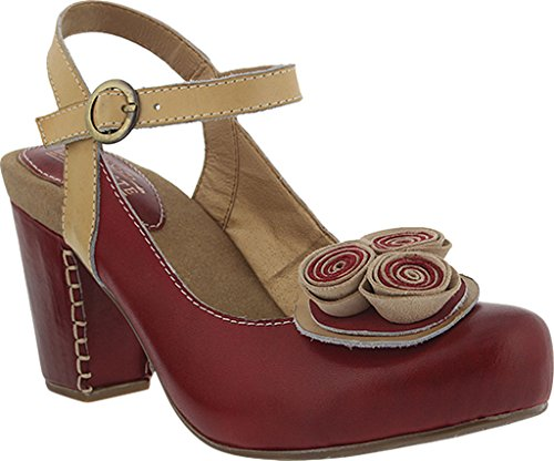 Pictures of Spring Step Women's Adorn Red Sandal Red Red 1