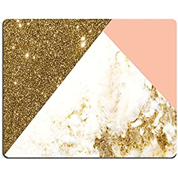 Amazon Com Jacks Outlet Glitter Spill Round Mouse Pad