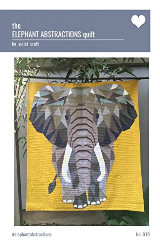 The Elephant Abstractions Quilt Pattern a Foundation Paper Piecing Project by Violet Craft 54