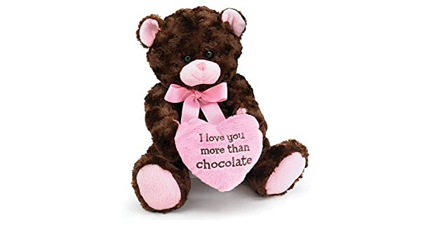 Teddy Bear 10 Inch Chocolate Kiss Brown Teddy Bear Juguete de Peluche: Amazon.es: Juguetes y juegos
