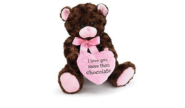 Teddy Bear 10 Inch Chocolate Kiss Brown Teddy Bear Juguete de Peluche: Amazon.es: Juguetes y juegos