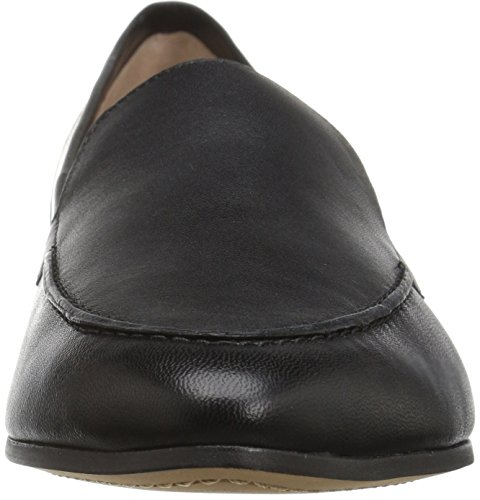Slip Women's Black Leather Loafer Collective 206 Leona on tqx5w8nTz