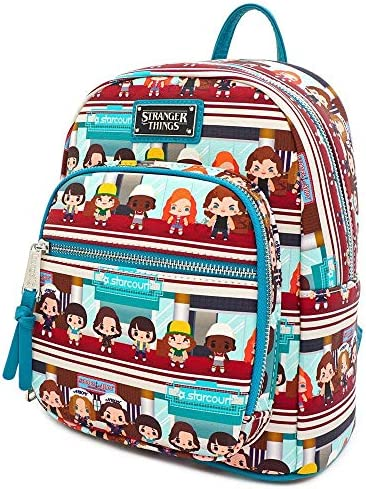 Loungefly x Stranger Things Starcourt Mall Chibi Mini Backpack