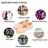 WOBAOS Ballet Slipper Shoes Split-Sole Dance Flat