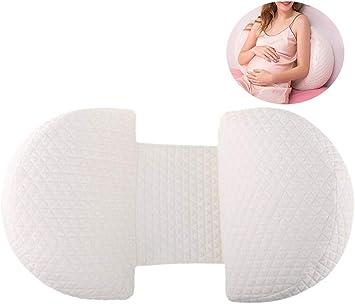 Amazon.com: Almohada multifuncional para embarazadas, tipo U ...