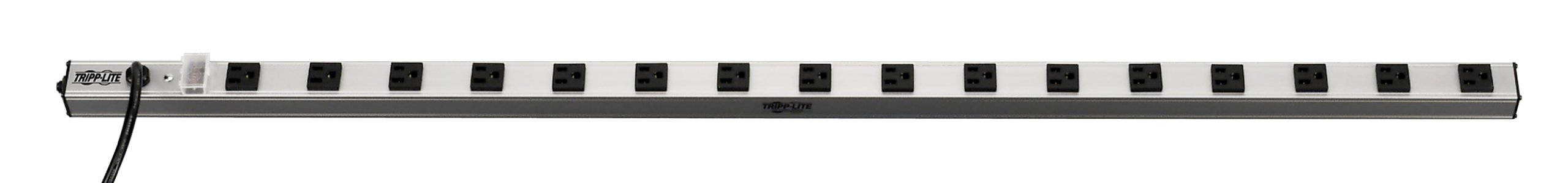 Tripp Lite 16 Outlet Surge Protector Power Strip, 15ft Long Cord, Metal, (SS7415-15)