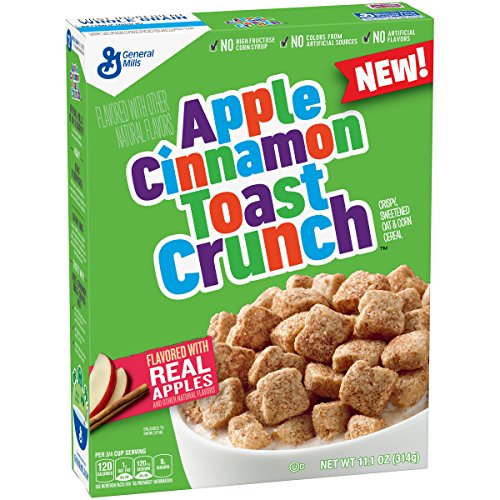 Apple Cinnamon Toast Crunch Cereal Box, 11.1 Ounce