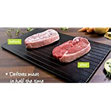 Miracle Thaw Defrost Tray Frozen Food Meat Defrosting Quick Defrosts Safely New by Klife