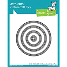 Lawn Fawn Lawn Cuts Custom Craft Die - Small Stitched Circle Stackables (LF796)