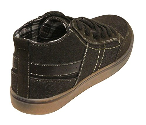 Dream Seek 70h25 Uomo Sneakers Alte Alla Caviglia Con Punta Tonda E Stringate Marrone