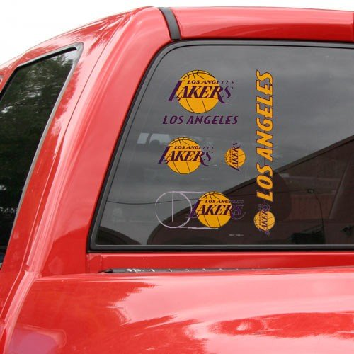 WinCraft NBA Los Angeles Lakers Multi Use Decal, 11 x 17