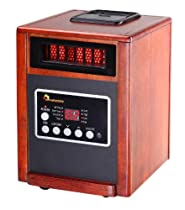 Elite Series 1,500 Watt Portable Electric Infrared Cabinet Heater with Humidifier