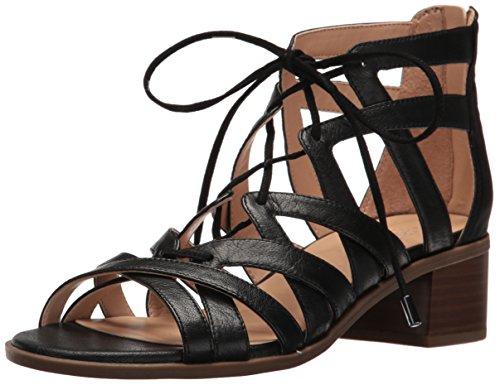 Franco Sarto Women L-Ocean Heeled Sandal Black