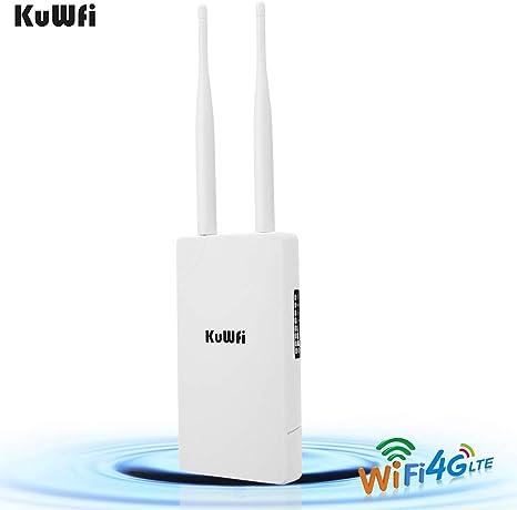 Amazon.com: KuWFi - Router inalámbrico para exteriores 4G ...