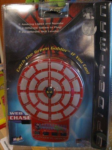 Entertainment Mga Game Handheld - Spider-Man Web Chase - Electronic Handheld Game (2002) by MGA