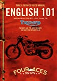 English 101 DVD - Unit & Pre Unit Triumph & Unit BSA Motorcycle Maintenance DVD