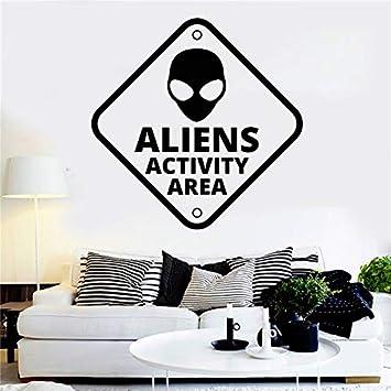 Vinilo Tatuajes de Pared Alien Zona OVNI Cita Habitación de ...
