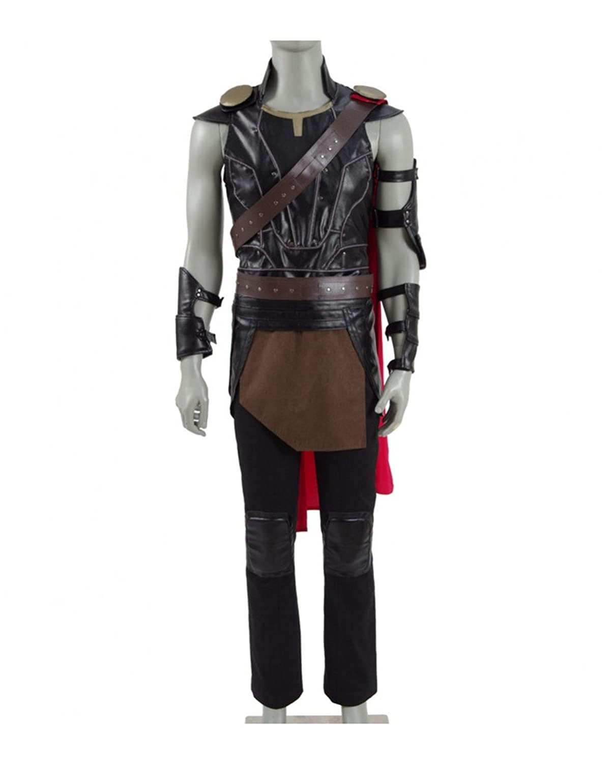 Thor 3: Ragnarok Adult Thor Faux Leather Outfit - DeluxeAdultCostumes.com