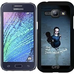 Funda para Samsung Galaxy J1 2015 (SM-J100) - Señorita Inocente by Britta Glodde