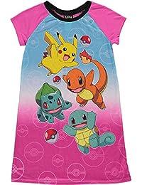 Pokemon Pika Pika Nightgown for Little Girls
