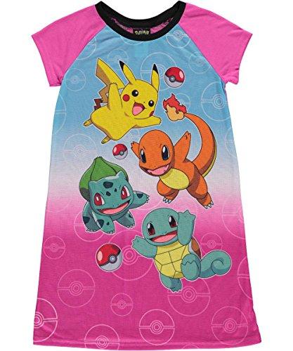 Nintendo Pokemon Nightgown Little Girls