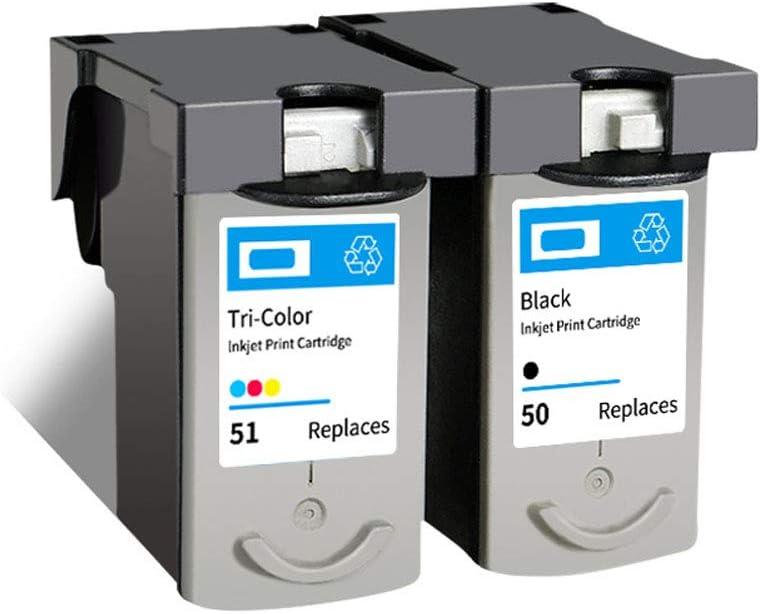 PG50 CL51 - Cartucho de tinta para impresora Canon Pixma iP1300 iP2200 iP6210D iP6220D iP6320D MP150 MP160 MP170 MP180 MP450 MP450X MP460 MX308 MX318, color CL51 size: Amazon.es: Oficina y papelería