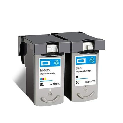 PG50 CL51 - Cartucho de tinta para impresora Canon Pixma ...