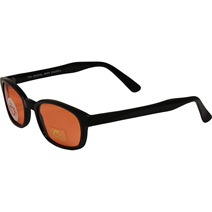 2511b58d9 Amazon.com: Original KD Sunglasses Orange Lens Biker Driving Glasses ...