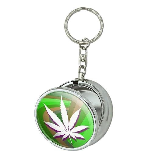 Hoja de Marihuana olla hierba de perro tamaño bolsillo bolso ...