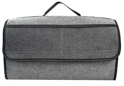 EJP-Bag adatto a qualunque veicolo Contenitore per baule in grigio grande