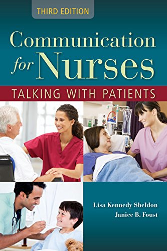 Communication for Nurses: Talking with Patients Pdf