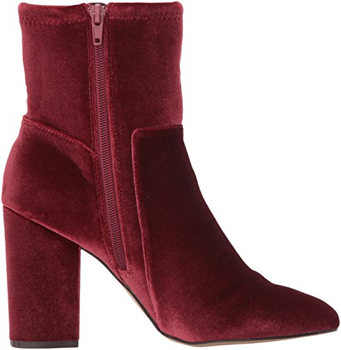 Wine Fabric Nine Ankle Corban Fabric West Women's Boot xwYOqgH