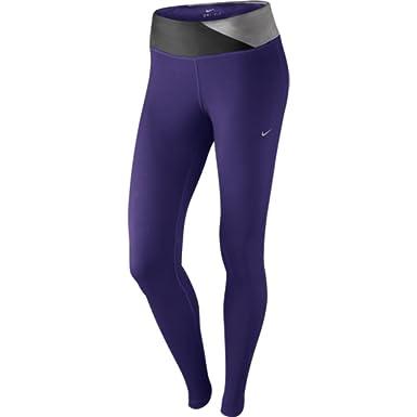 0793a151b3 Nike Women's Dri-Fit Epic Run Tight, Court Purple/Medium Light Ash/