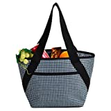 Picnic at Ascot Houndstooth Small Cooler Tote