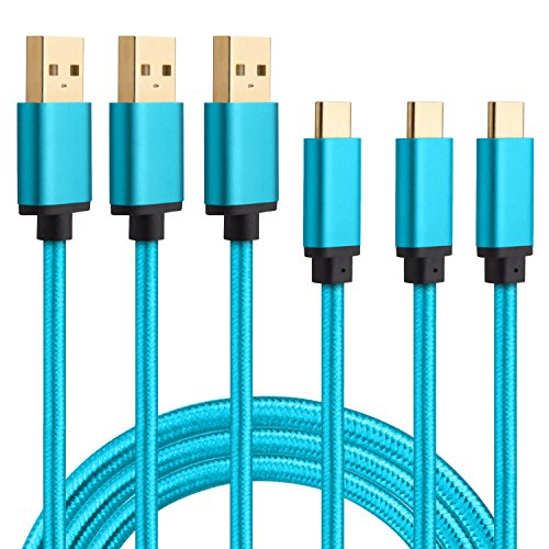 HI CABLE 3 Pack Braided Charger Samsung